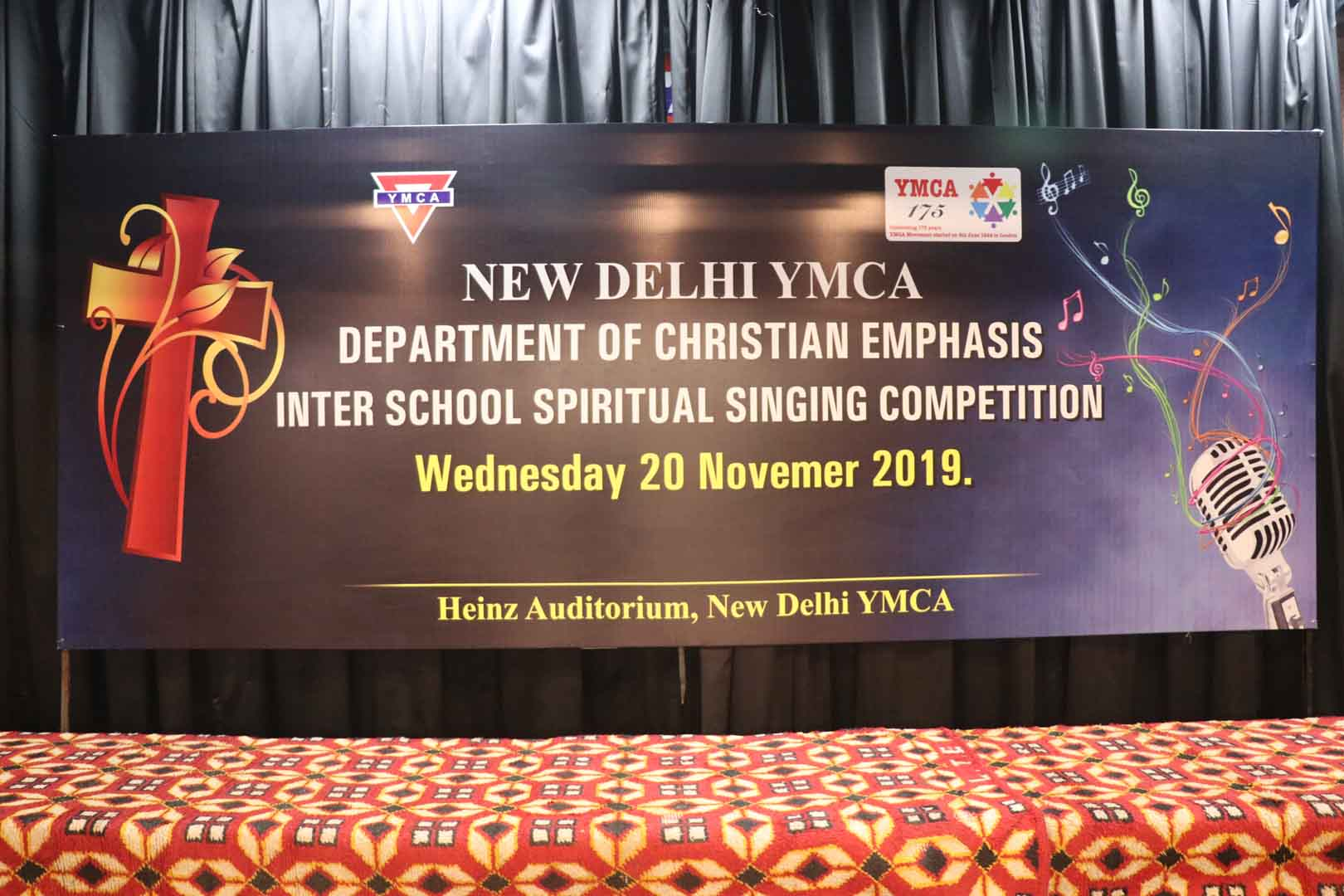 INTER SCHOOL SPIRITUAL SINGING COMPETITION 20 NOV 2019